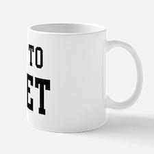 Belongs to Bridget Mug