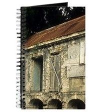 Detail of old buildingslands, St Croix, Fr Journal