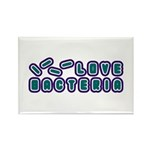 Love Bacteria Rectangle Magnet (10 pack)