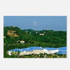 Rodney Bay. Resort Hotel  Postcards (Package of 8)