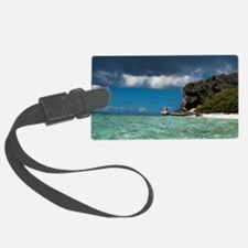 Water off of Pajaros beach in Mo Luggage Tag