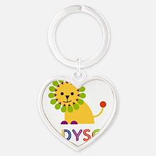 Madyson-the-lion Heart Keychain