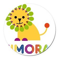 Kimora-the-lion Round Car Magnet