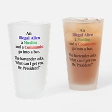 tshirt Drinking Glass