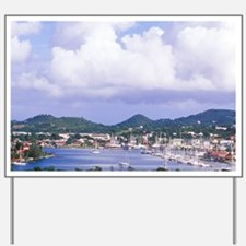 Choc Bay, Castries city center, St Lucia Yard Sign