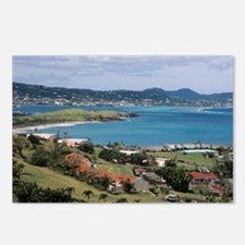 View of Christiansted fro Postcards (Package of 8)