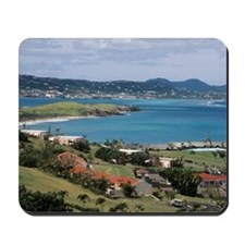 View of Christiansted from above the Buc Mousepad