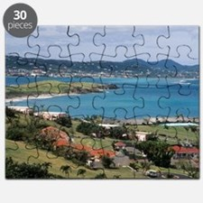 View of Christiansted from above the Buccan Puzzle
