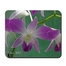 Orchid cover 2012 f-web Mousepad
