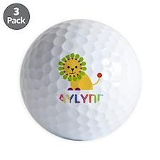 Jaylynn-the-lion Golf Ball