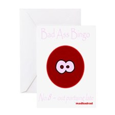 BAB 8 dark 3000 Greeting Card