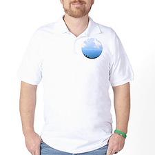 blueglass5 T-Shirt