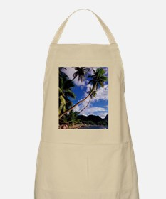 Lucia, Fishing boats and Pitons, Soufriere.d Apron