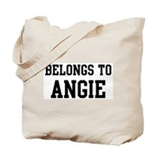 Belongs to Angie Tote Bag