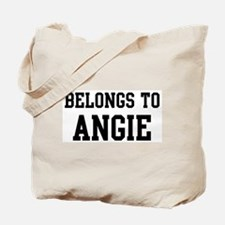 Belongs to Angie Tote Bag