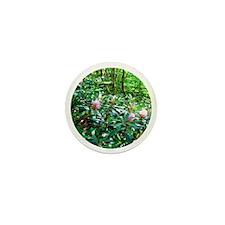 floralglass1 Mini Button