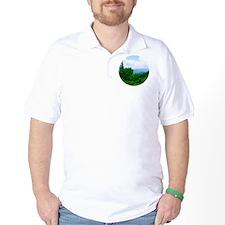blueglass24 T-Shirt