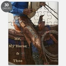 Me, My Horse  Thee Puzzle