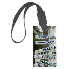 West End: Signpost/ Brac Reef Be Luggage Tag