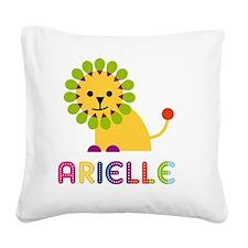 Arielle-the-lion Square Canvas Pillow