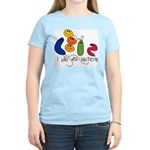Play with Bacteria Women's Light T-Shirt