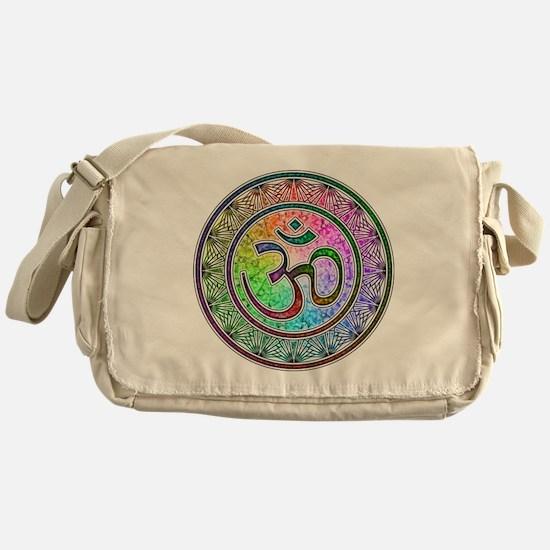 OM-mandala Messenger Bag