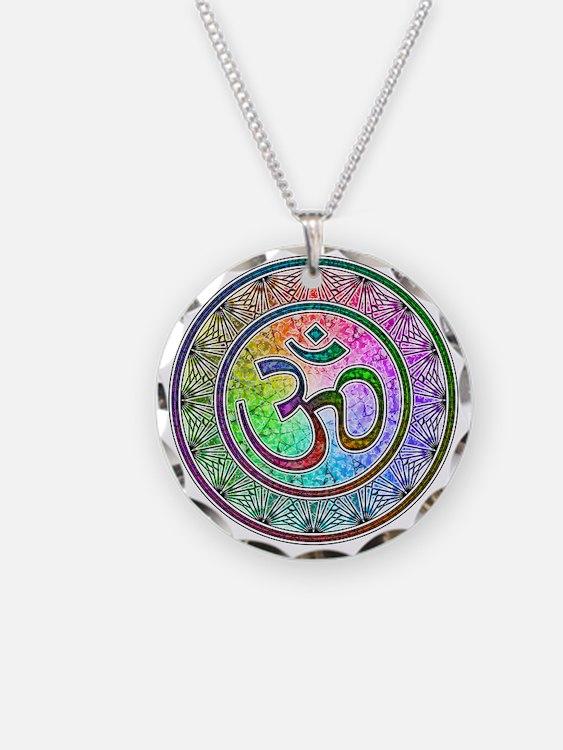OM-mandala Necklace