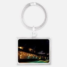 St. Martin. Grand Case; Il Nett Landscape Keychain