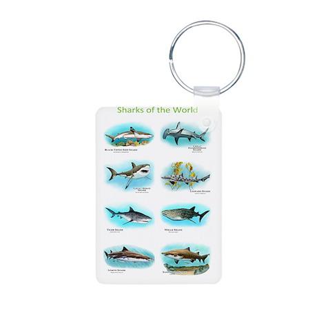 Sharks of the world Aluminum Photo Keychain