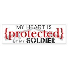 protectedARMY Bumper Sticker