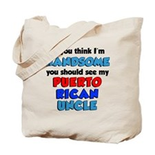 Handsome Puerto Rican Uncle Tote Bag