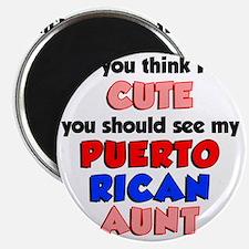 Cute Puerto Rican Aunt Magnet
