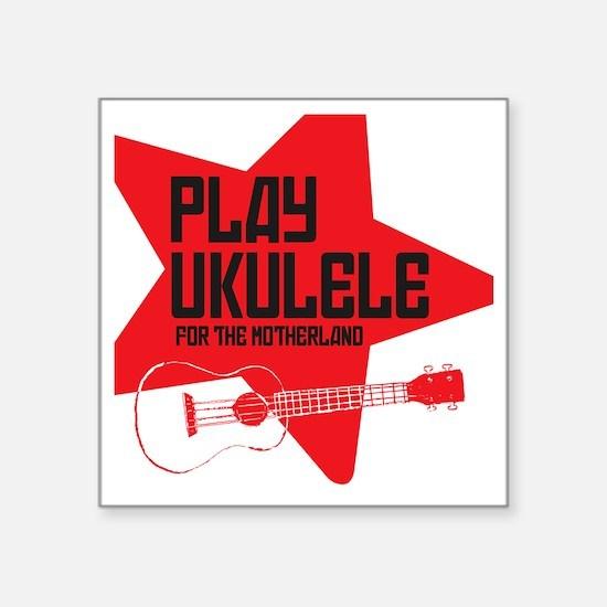 """funny russian soviet union  Square Sticker 3"""" x 3"""""""
