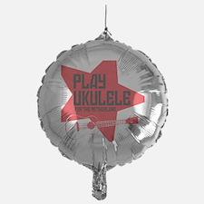 funny russian soviet union ukulele u Balloon
