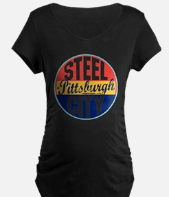 Pittsburgh Vintage Label W T-Shirt