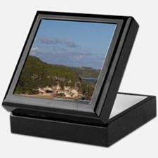 Coastline view by El TunelIsabela, co Keepsake Box