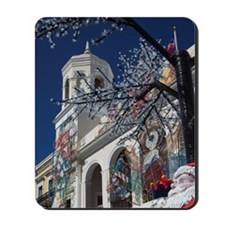 Christmas decorations, Old San Juan, Pla Mousepad