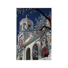Christmas decorations, Old San Ju Rectangle Magnet