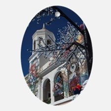 Christmas decorations, Old San Juan, Oval Ornament
