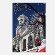 Christmas decorations, Ol Postcards (Package of 8)