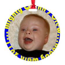 quinnbutton2 Ornament