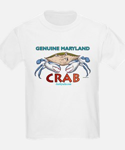 Double Maryland Crab Kids T-Shirt