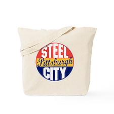 Pittsburgh Vintage Label B Tote Bag
