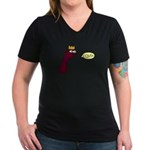 Tuberculosis Women's V-Neck Dark T-Shirt