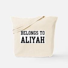 Belongs to Aliyah Tote Bag