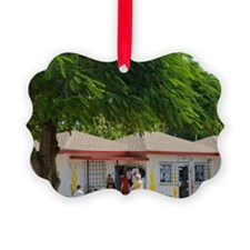 Cayman Islands. Post office in th Ornament