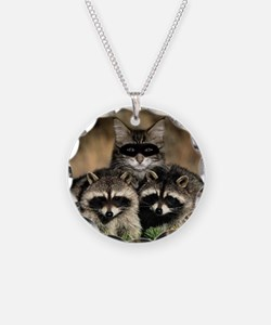 Raccoons Necklace