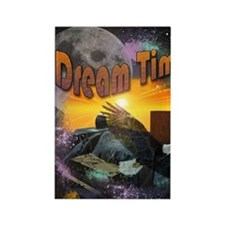 Dream Time Rectangle Magnet