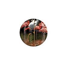 Flamingos Mini Button