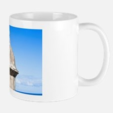 Puerto Rico - An old stone watchtower l Mug